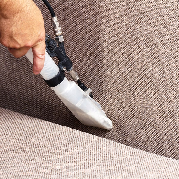 Furniture cleaning with commercial grade cleaning process.